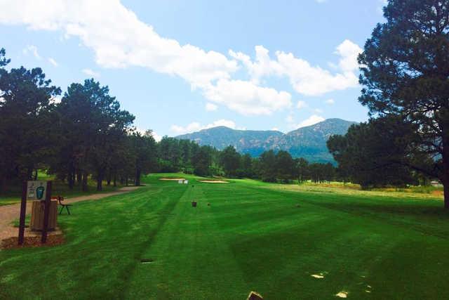 eisenhower golf club blue course in colorado springs