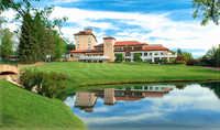 Broadmoor GC: Clubhouse