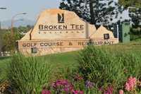 Broken Tee Englewood GC: front sign
