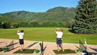 Park City GC: Driving range