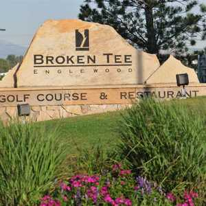 Broken Tee Englewood GC: front sign