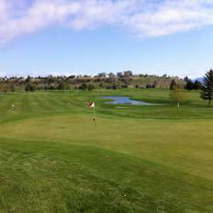 Village Greens GC: #18