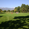 A view of the 9th green at Valley Hi Municipal Golf Course