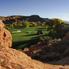 A view of the 1st green at Dixie Red Hills Golf Course