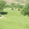 A view of the 13th fairway at Cedaredge Golf Club