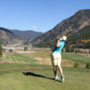 A view from a tee at Copper Creek Golf Club
