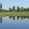 A view over the pond at #2 from Larchmont Golf Course
