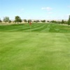 A view of a green at Lake Hills Golf Club