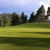 A view of hole #14 at Estes Park Golf Course