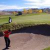 A view of a hole at Black Mesa Golf Club