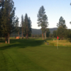 A view of a green at Double Arrow Golf Resort