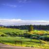 A view of a tee at Breckenridge Golf Club
