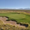 View of a green at Red Hawk Golf Club