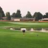 A view from a tee at Yegen Golf Club