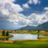A view from tee #10 at Shooting Star of Jackson Hole