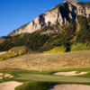 A view of a green at Crested Butte Country Club