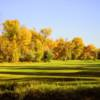 A fall view of a fairway at Jefferson Hills Golf & Recreation