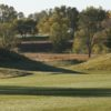 A view from Gene Torres Golf Course at Highlands University