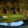 View of the par-3 16th hole at River Valley Ranch Golf Club