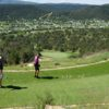 A view from a tee at The Golf Club from Rainmakers