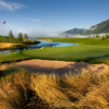 A view of green #16 at Shooting Star of Jackson Hole