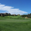 A view of a green from Country Club at Castle Pines
