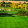 View of a fairway and green at Stoneridge Golf Course