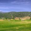 A view of the 6th green at Fairmont Hot Springs Resort