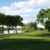 A view of a hole at Meadow Lark Country Club