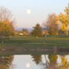 A view over the water from Bill Roberts Golf Course