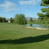 A view of green #6 at Bear Lake Golf Course
