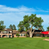 A view of the clubhouse at Cherry Hills Country Club