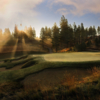 A view of the 9th hole at Wilderness Club