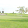 A view of the practice area at Silver Sage Golf Course