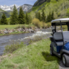 A view of a hole at Vail Golf Club