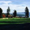 A view from fairway #18 at Hayden Lake Country Club.