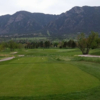 A view from a tee at Monte Vista Country Club.
