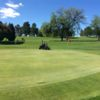 A view of a green at Elmwood Golf Course.