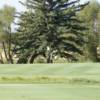 A view of a green at Fremont County Golf Course (Albis Golf).
