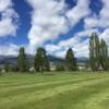 A sunny day view from Salmon Valley Golf Course.