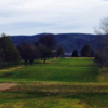 A view of a fairway at Rolling Hills Golf Course.