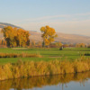A fall day view from King Ranch Golf Course (Playmissoula).