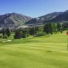 A view of a green at Eagle Mountain Golf Course.