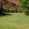A view from a fairway at Hobble Creek Golf Course.