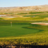A view of a hole at White Mountain Golf Course.