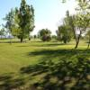 A sunny day view from Green Hills Golf Course.