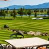 A view of a fairway at Whitetail Golf Club.