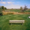 A view of a tee at Marian Hills Golf Course.