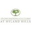 Greg Mastriona Golf Courses at Hyland Hills - Blue Course Logo